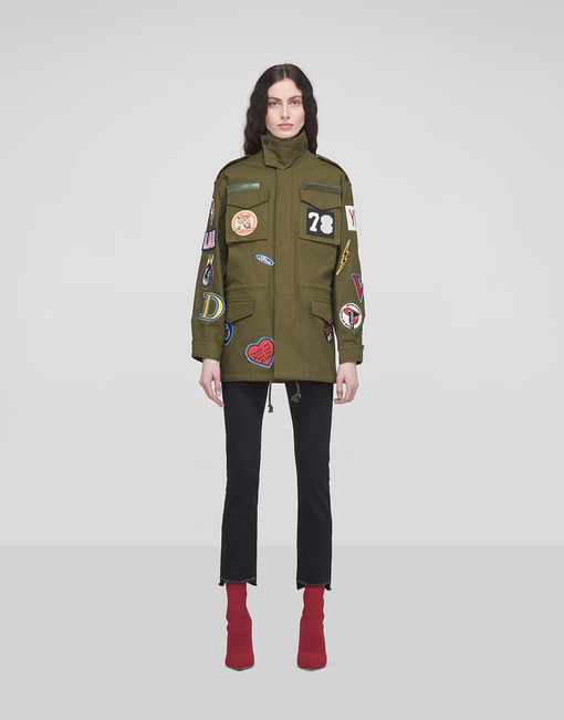DOV Patches Military Jacket