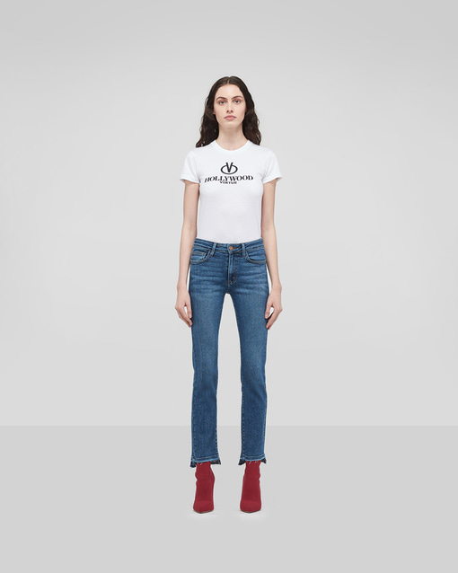 HIGHRISE STRAIGHT JEANS