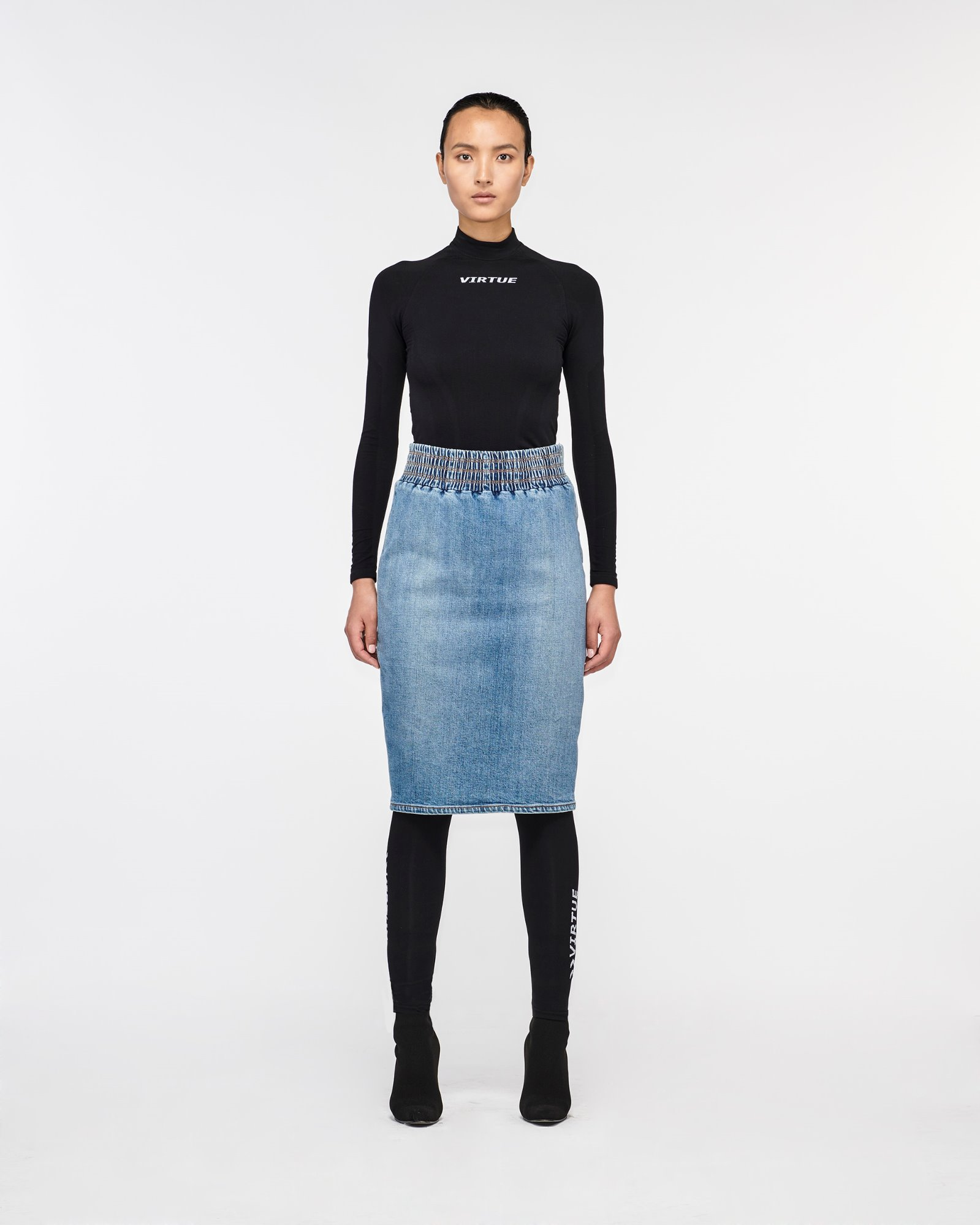 """MULHOLLAND"" SKIRT BLUEMOON"