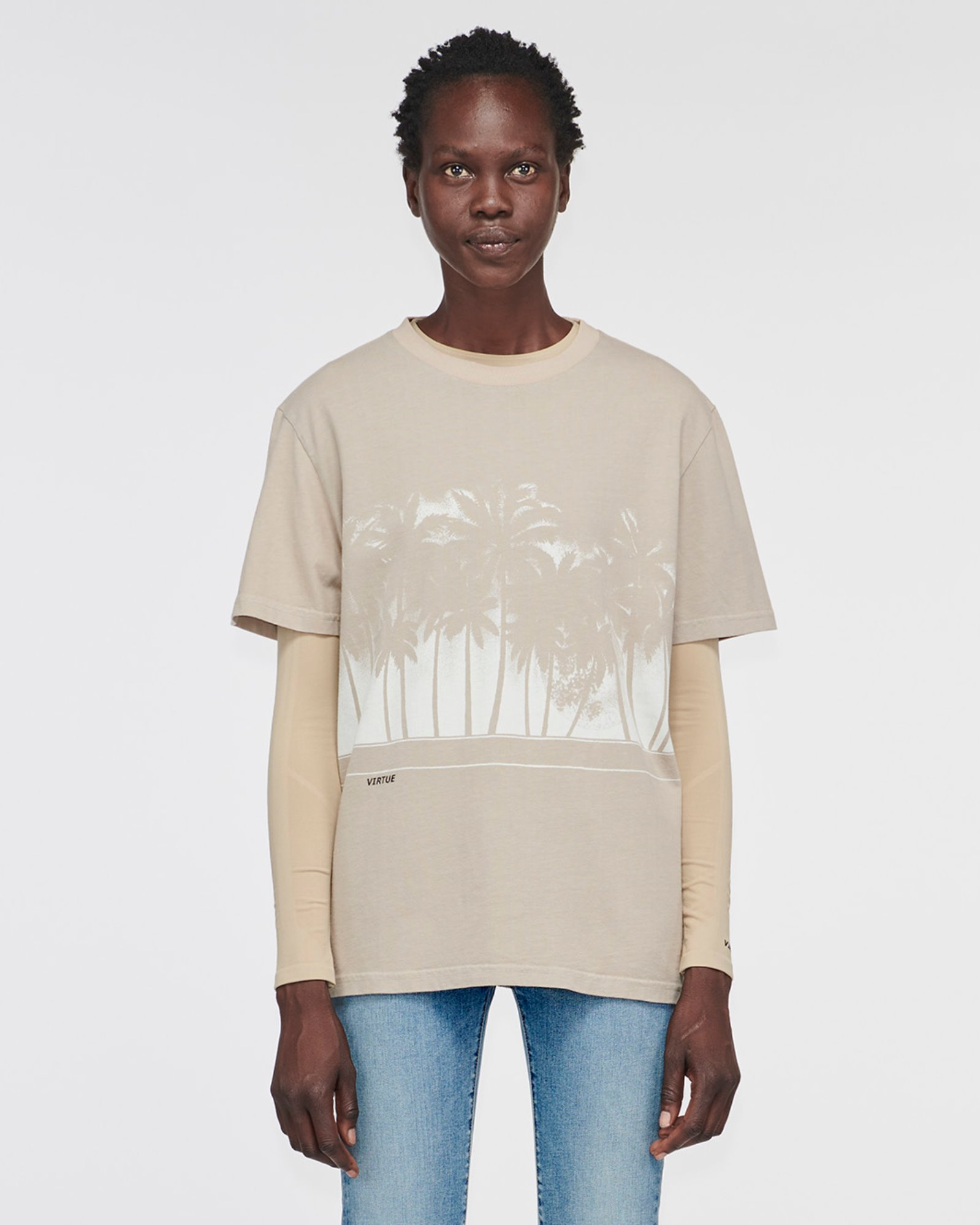 """WINDSOR"" PALMS TEE MYSTIC"