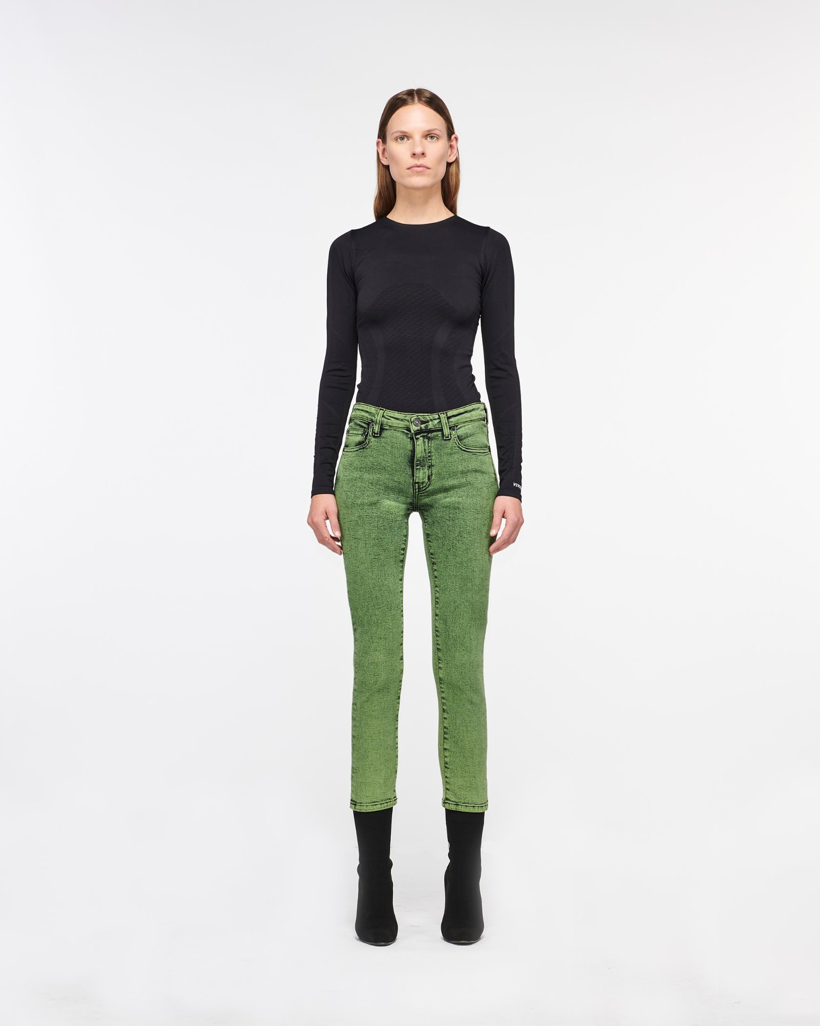 """JULIANNE"" SKINNY GREEN AURORA"