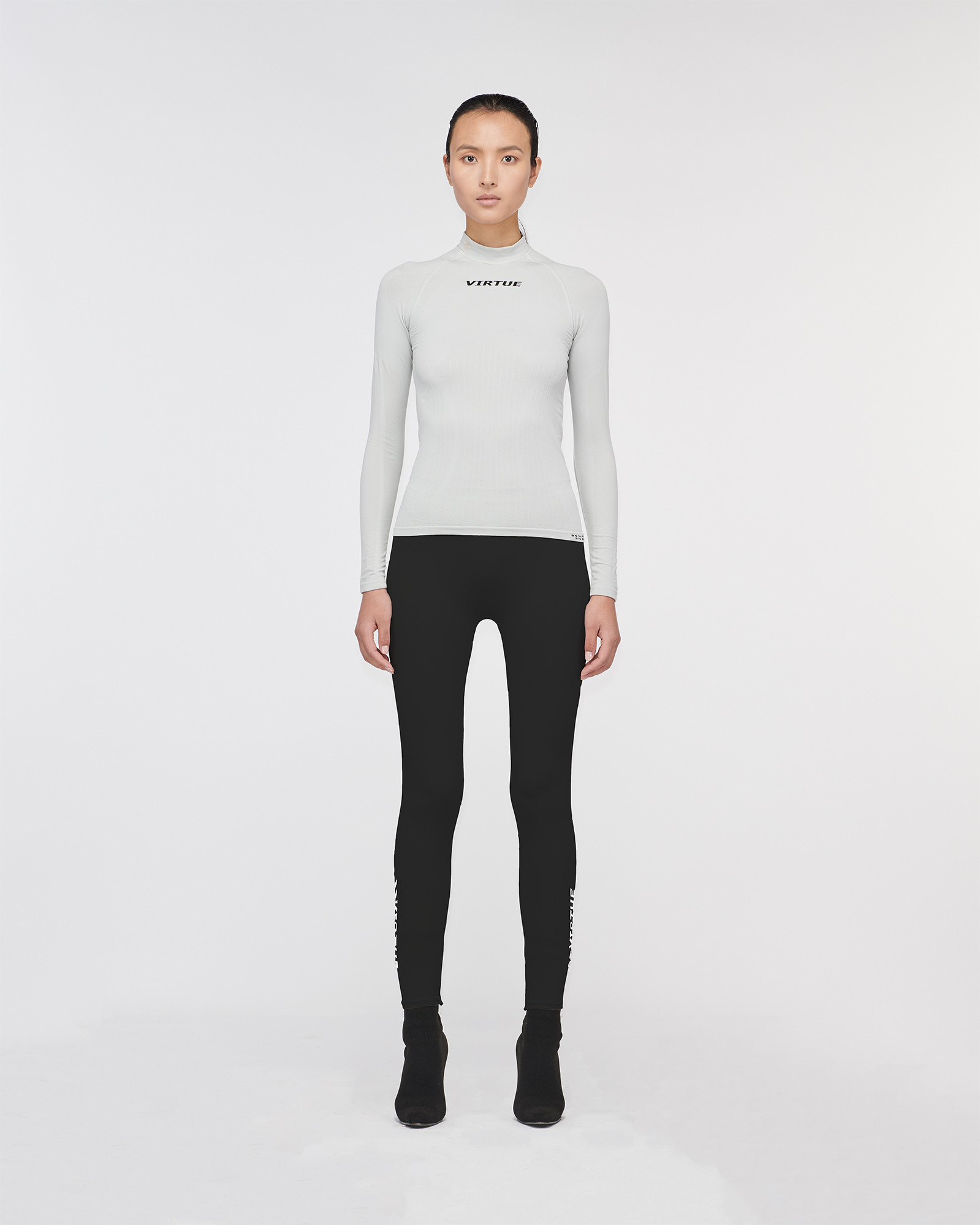 """BEVERLY HILLS"" SEAMLESS LEGGING BLACK"