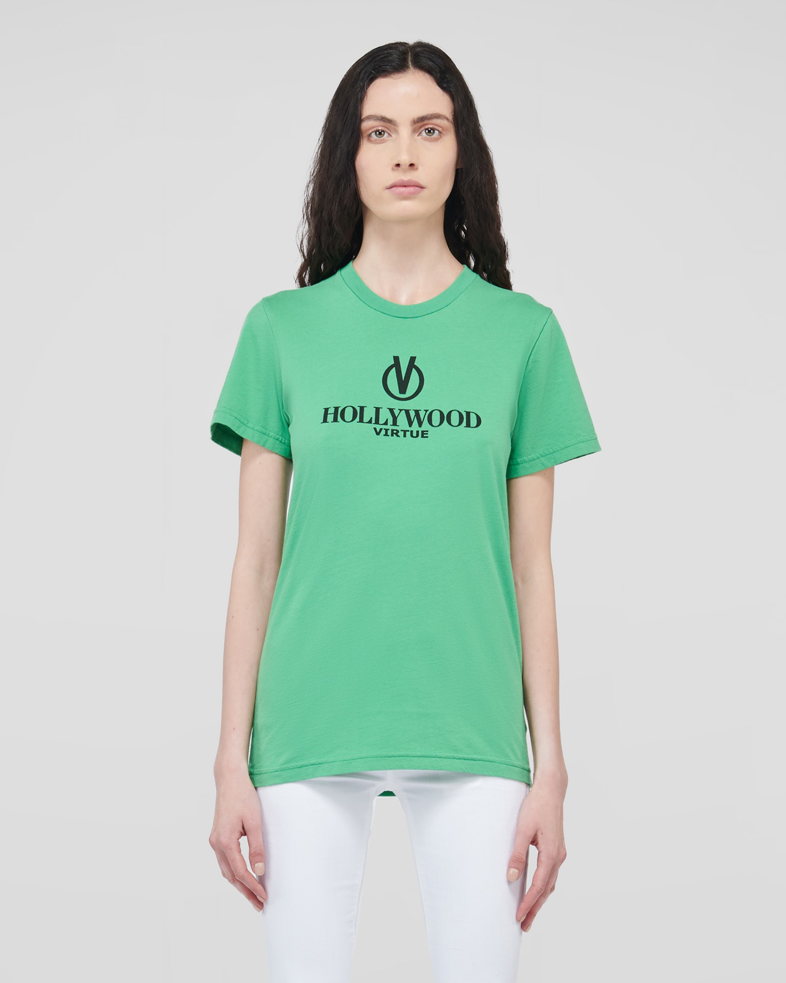 HOLLYWOOD T-SHIRTS LIGHT GREEN