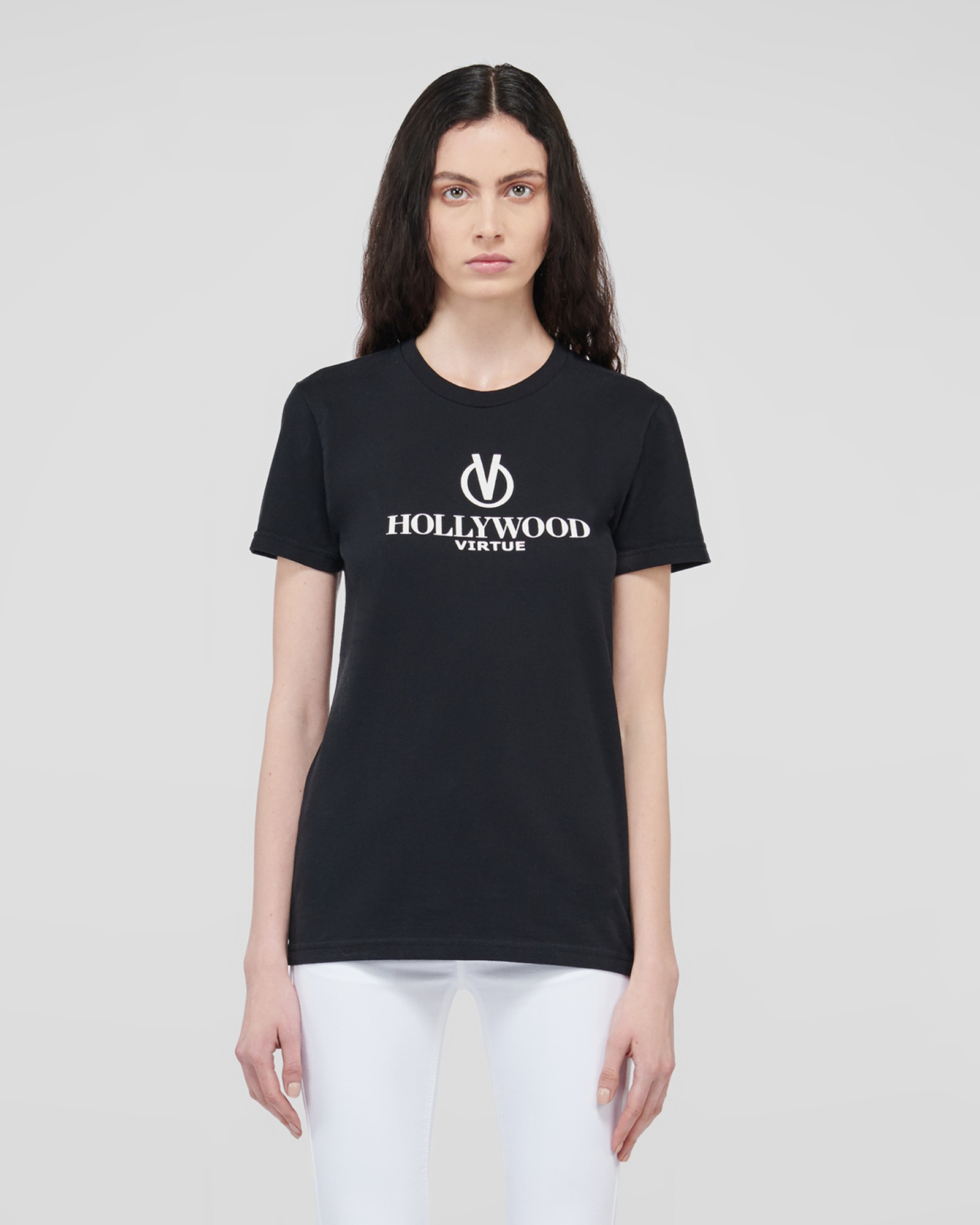 HOLLYWOOD T-SHIRTS BLACK